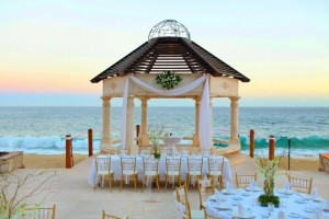 Wedding set-up at Grand Solmar Land's End Resort and Spa