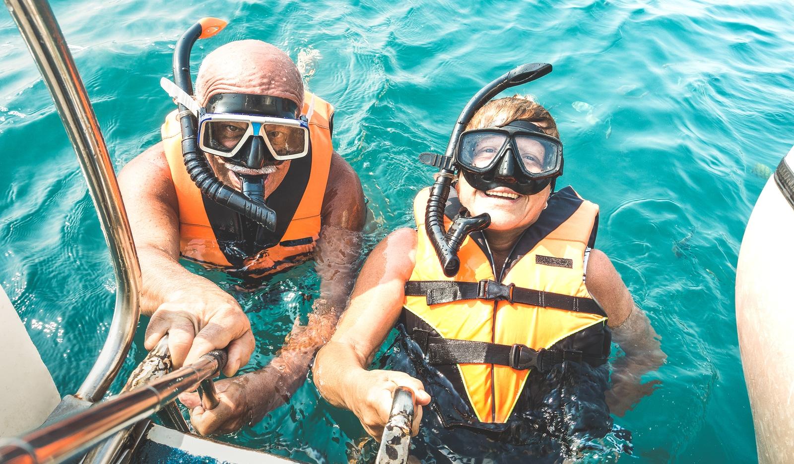 snorkeling by Grand Solmar Vacation club