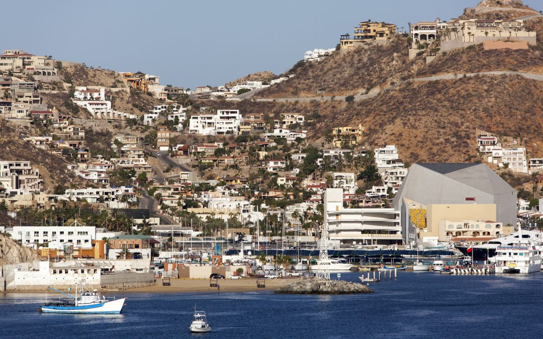 The downtown of Cabo San Lucas